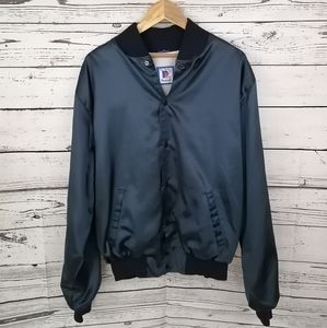 Vintage 80's Rennoc Nylon Bomber Jacket